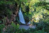 к водопаду спускаемся из парка Kattarаkton