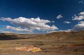 Марс, а за теми холмами Луна Чаган-Узуна. Парад планет.