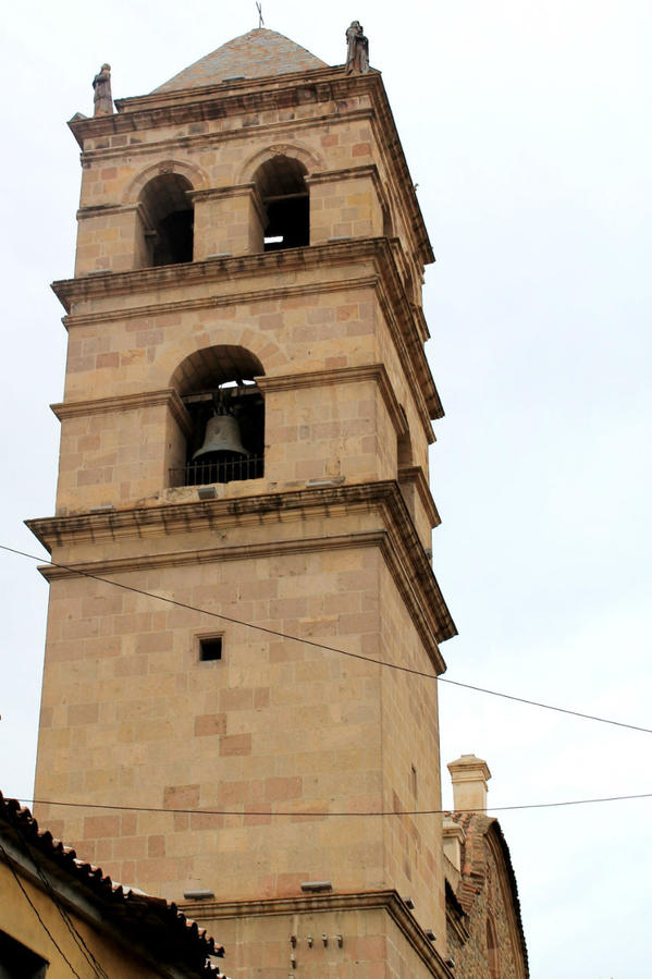 А это вид колокольни с улицы