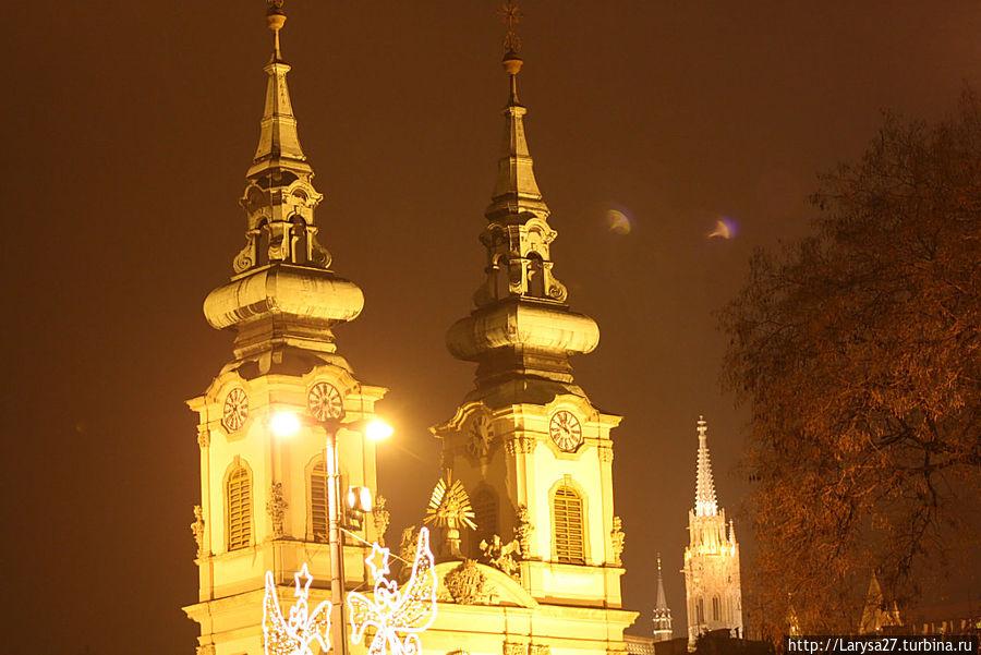 Церковь Св. Анны Будапешт, Венгрия