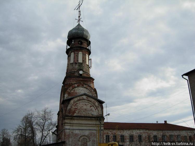 Сохранившаяся колокольня