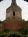 На крыше церкви Успения Богородицы. Без куполов
