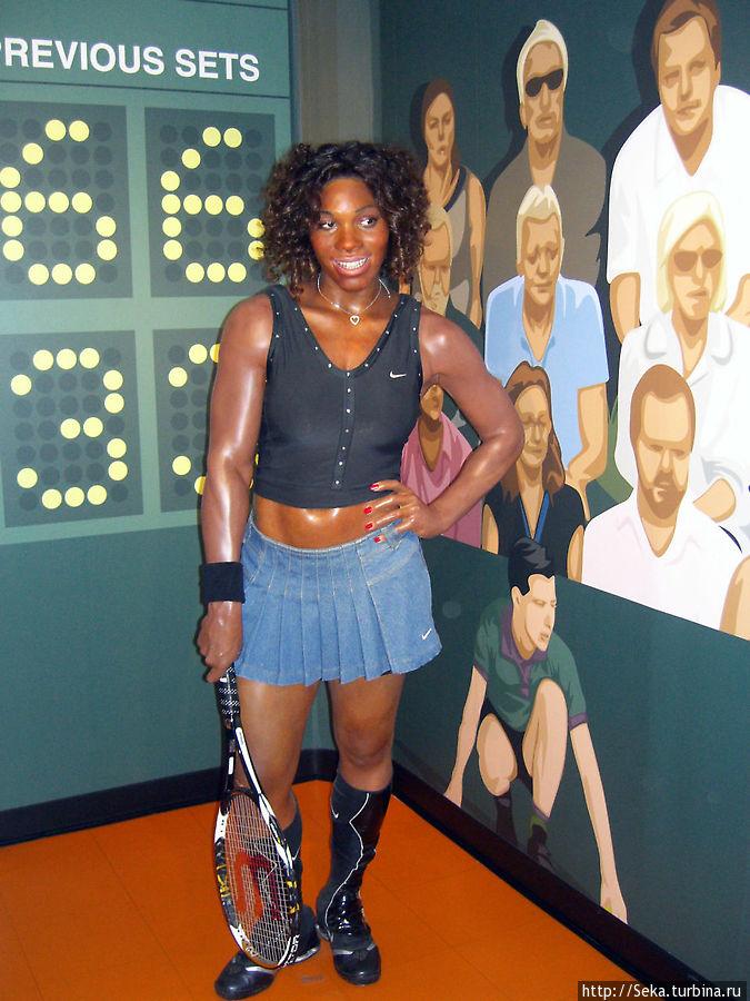 Теннисистка С. Уильямс