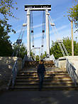 мост через приток Сяси к проходной ЦБК