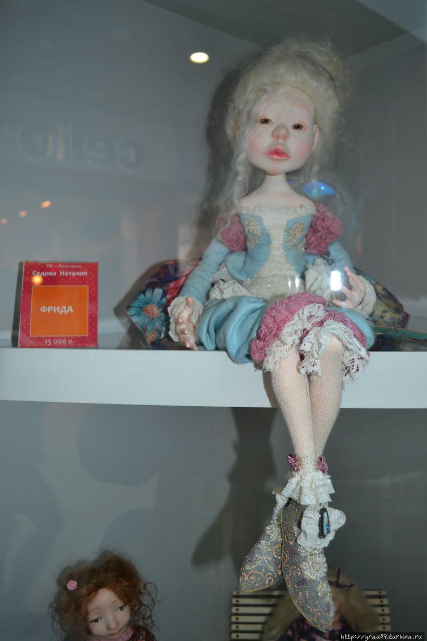 Конкурс выставка авторских кукол