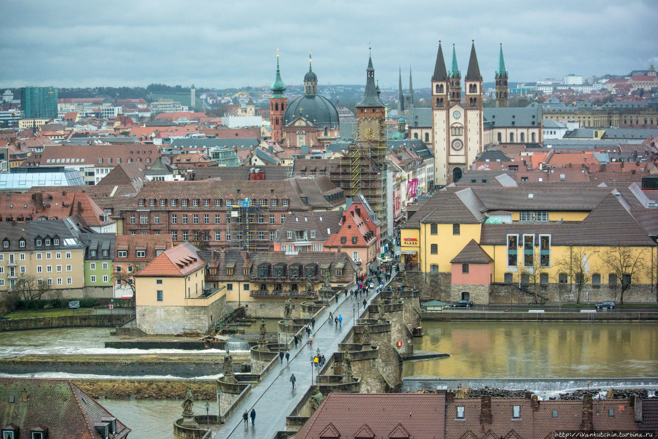 Гуляя по Вюрцбургу