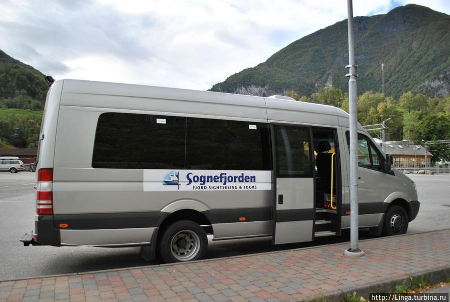 Микроавтобус из Флома на Стегастейн