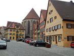 Marktplatz —   рыночная площадь у собора Св Георга