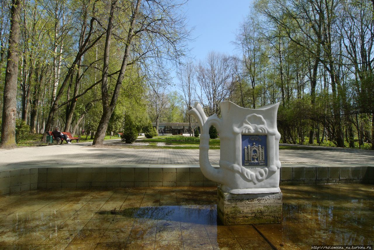 Весна цветёт. Курорт Старой Руссы Старая Русса, Россия