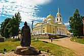 Богоявленский собор. На переднем плане — Св. Нил Столобенский.