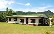 Клуб в деревне Муайра. Сейчас здесь проходят все собрания жителей.