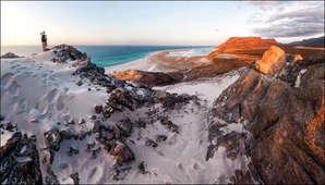 Ищем точки съемки на пляже Калансия