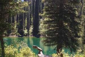 Второе озеро Кольсай.
