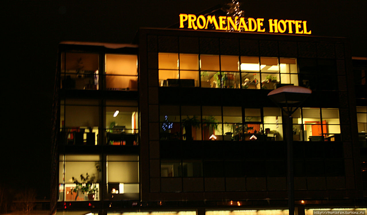 Вот так отель выглядит ве