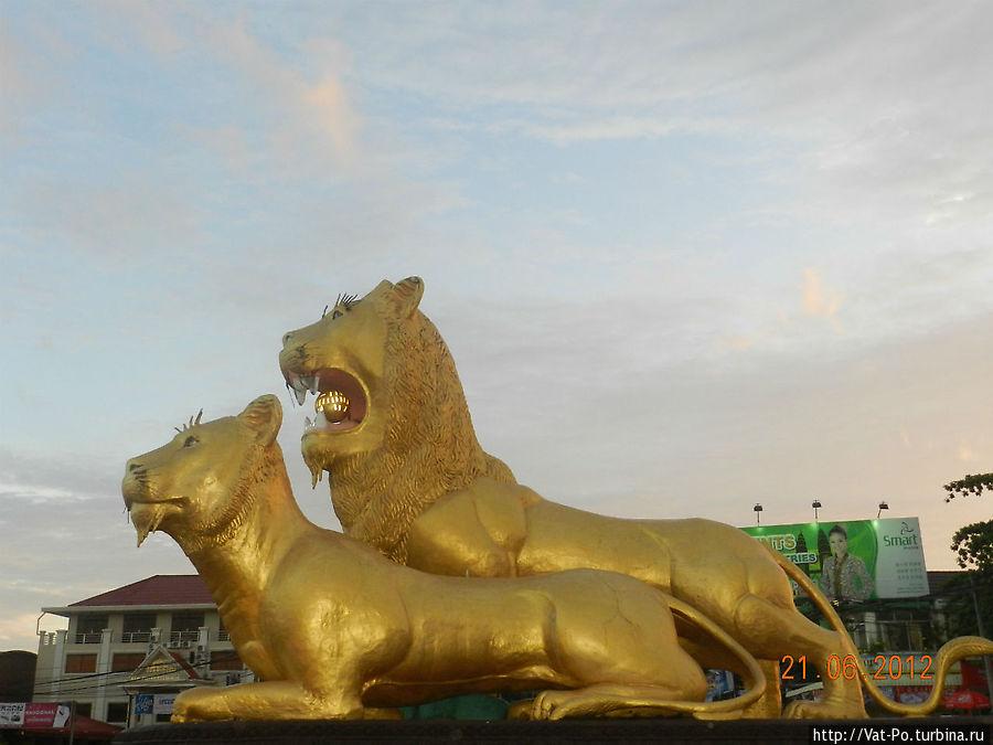 """Золотые львы (""""Golden Lions Traffic Circle»)."""