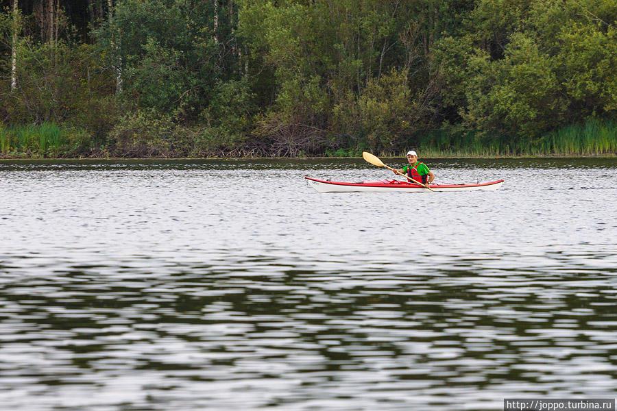 Осенняя рыбалка в Мянття-Вилппула Мянття, Финляндия
