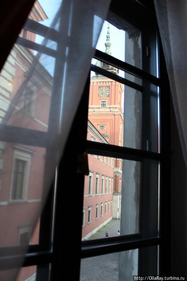 Вид из окна на Королевский замок