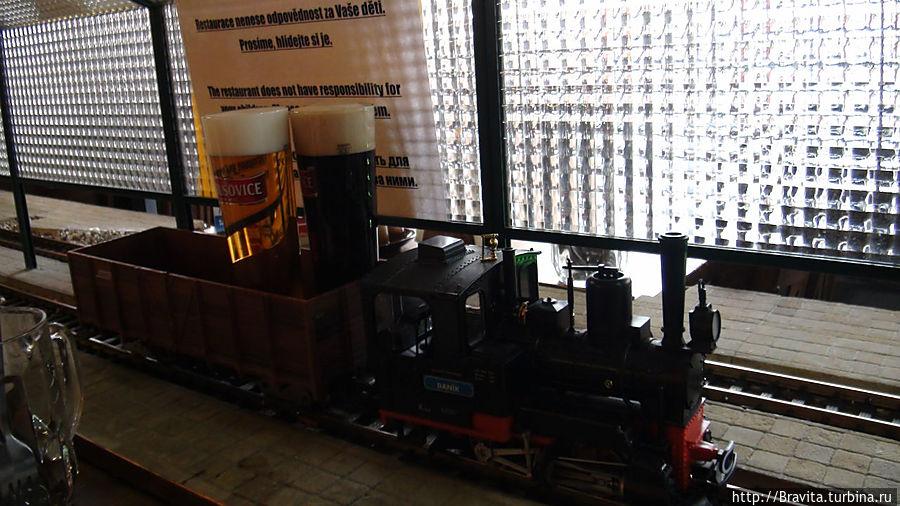 Каждый поезд имеет свое имя. Вот нас, например, обслуживает Danik :)