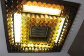 Электрическая люстра в храме.