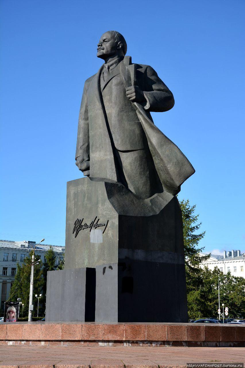 Архангельск. Историческая часть города Архангельск, Россия