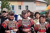 Участники в национальных костюмах