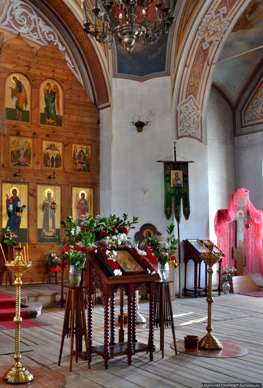 Церковь Казанской иконы Божией Матери Солотча, Россия