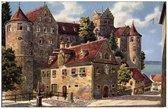 Старый замок, открытка 100-летней давности