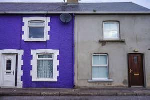 Типичные дома.