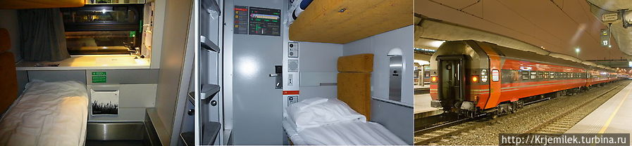 Спальный вагон NSB Sove