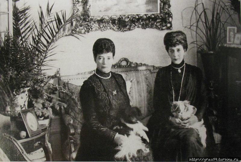 Мария Федоровна и королева-мать Александра в Дании (фото из Интернета)