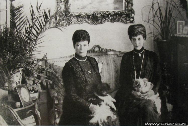 Мария Федоровна и королев