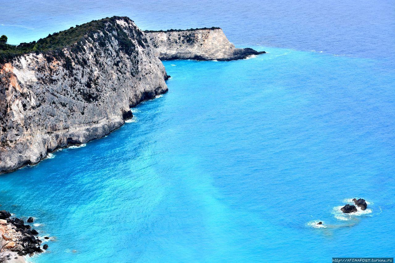 Пляж Эгремни Остров Лефкас, Греция