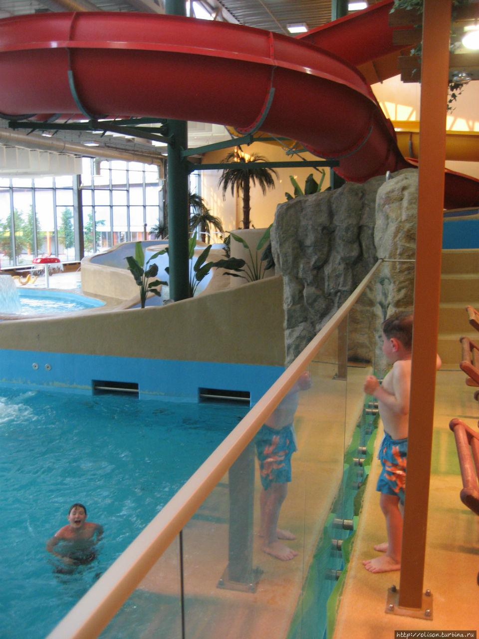 Крытый аквапарк