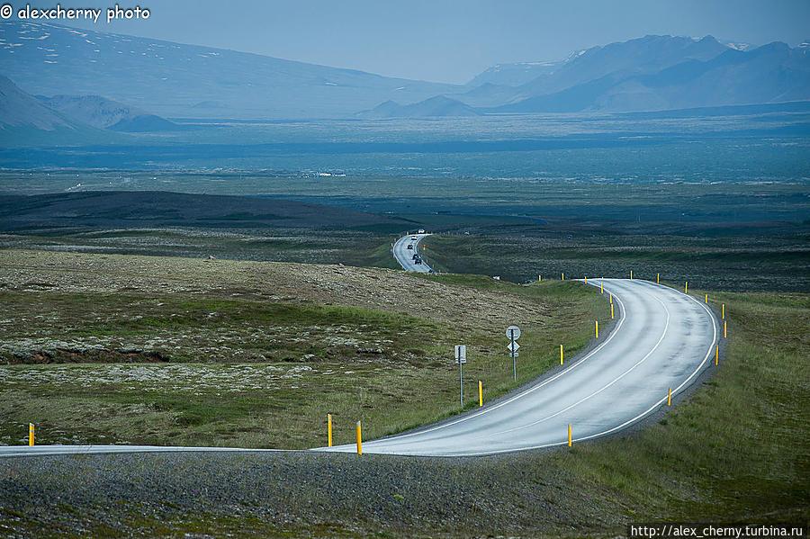 Неделя в стране водопадов, гейзеров и вулканов. Исландия-1 Исландия