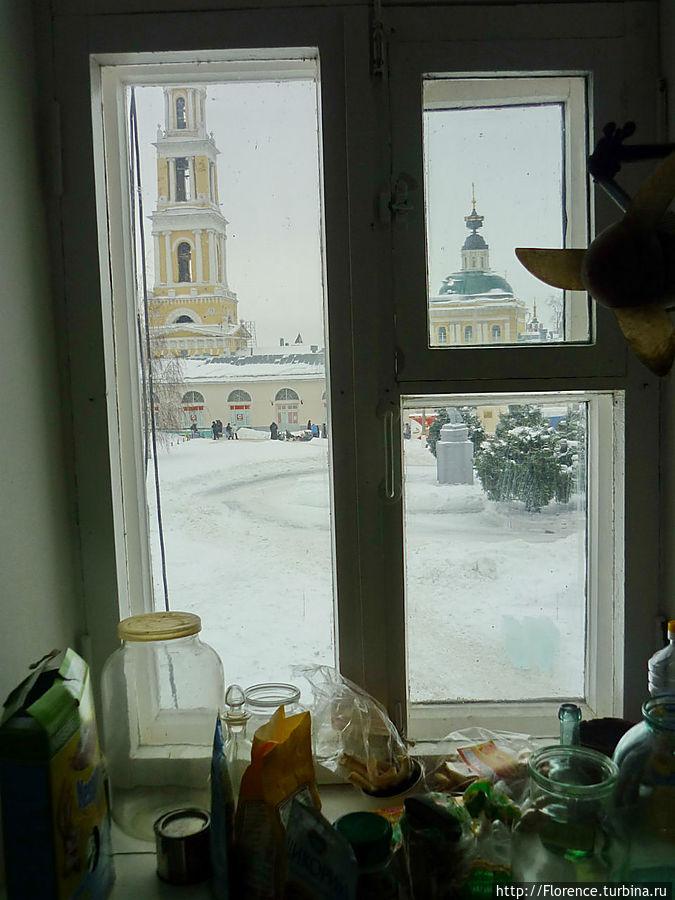 Окно кухни