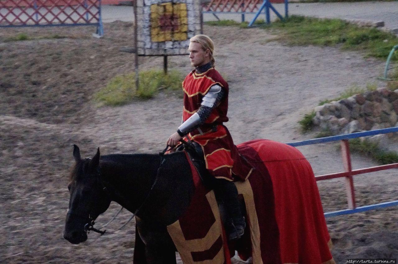 Рыцарский турнир в честь дам прекрасных Калининград, Россия