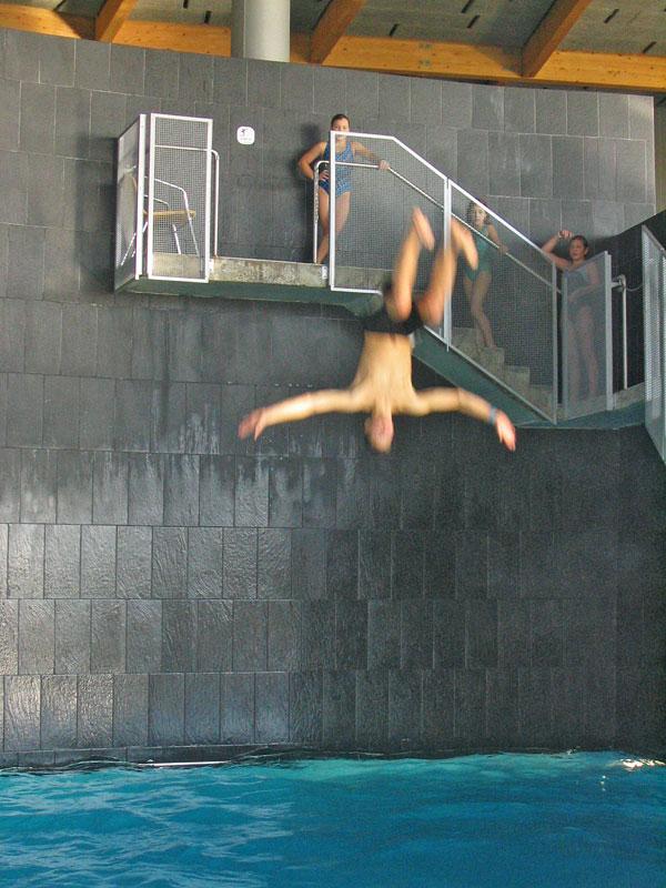 Вышка для прыжков