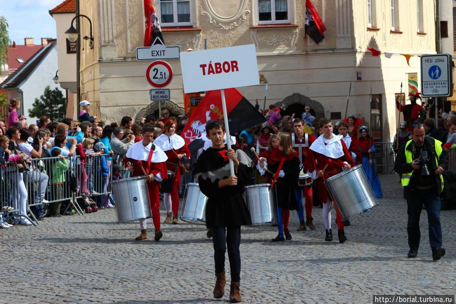 Исторический фестиваль в Таборе! Табор, Чехия