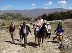 Пеше-конная прогулка в горах