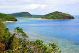 Вид с острова Дравага