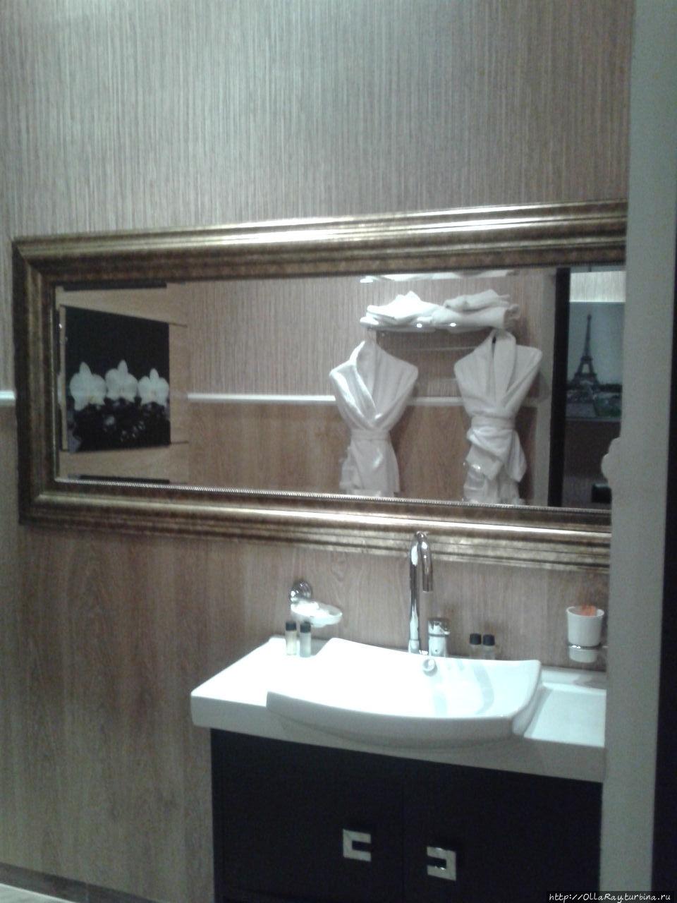Туалетная комната в номере