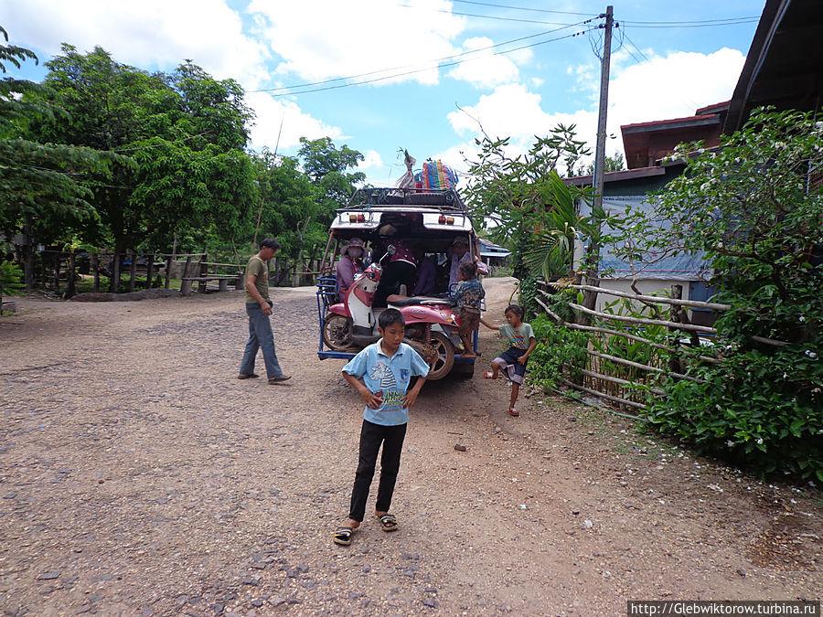 Остров Дон Дет май 2013 Остров Дон-Дет, Лаос