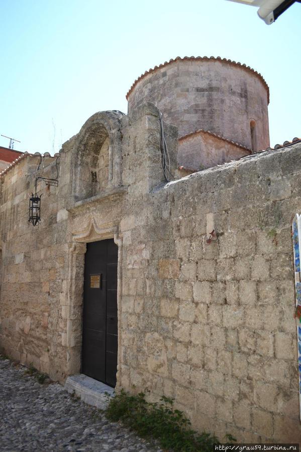 Церковь Святой Параскевы Родос, остров Родос, Греция