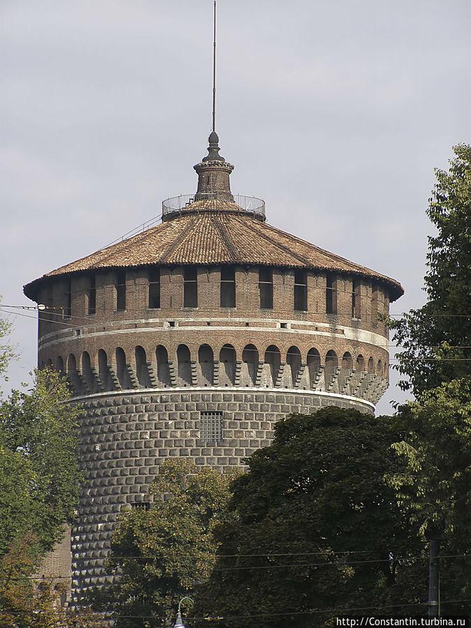 Башня Торрионе ди Санто Спирито