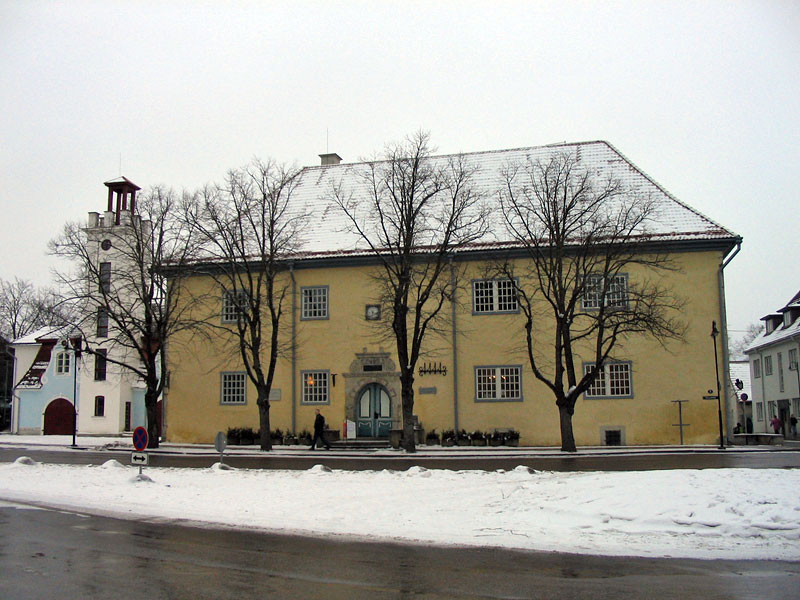 Ратуша зимой, 2006
