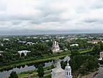 Вологда с колокольни Софийского Собора