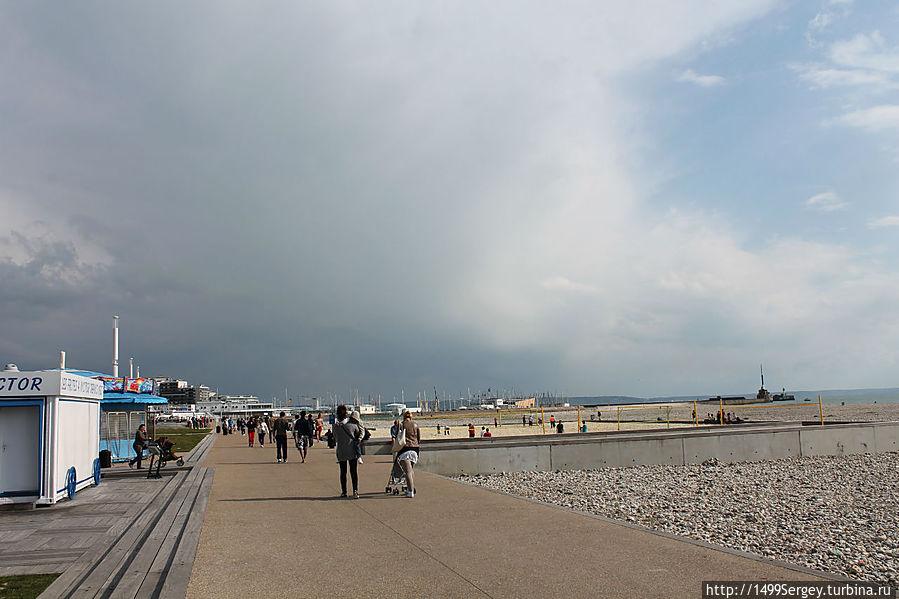 Гавр. Город с видом на океан #1 Гавр, Франция