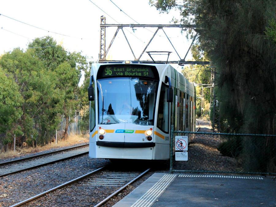 Трамвайные маршруты Мельбурна Мельбурн, Австралия