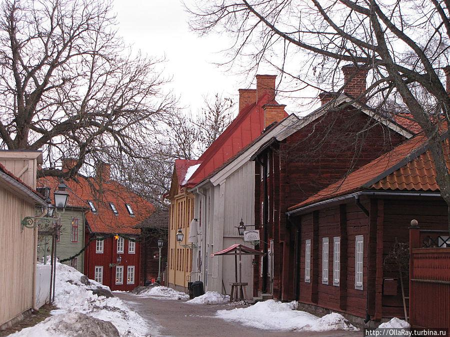 Улочки старого города. Квартал — музей  Гамла Линчёпинг.