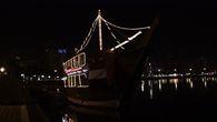 Корабль на озере Халед